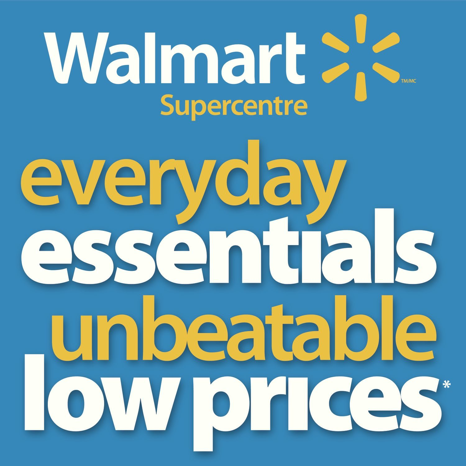 Walmart Weekly Flyer - Supercentre - Everyday Essentials - Jan 14
