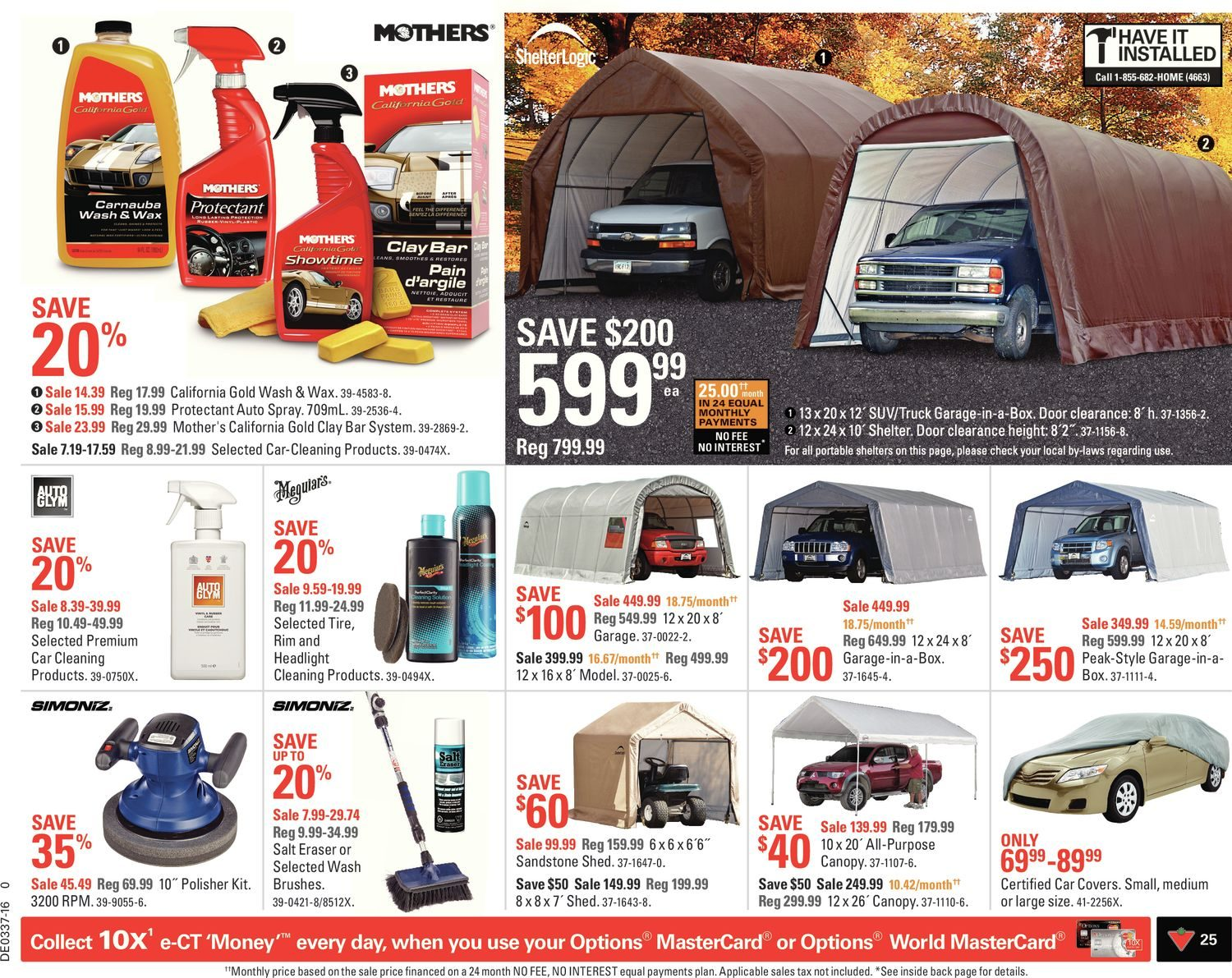 Canadian Tire Weekly Flyer Ready For It Sep 9 15 Elux Exa10002 1000w 2 Channel Amplifier Amp 4 Red Gauge Wiring Kit