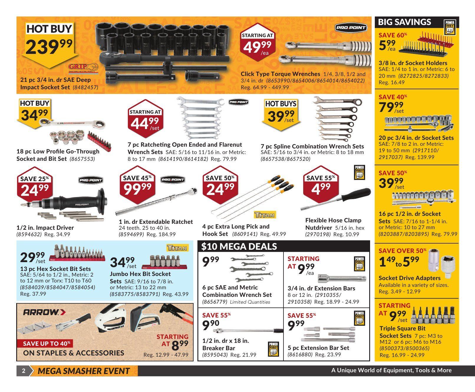 Princess Auto Weekly Flyer - Mega Smasher - Sep 20 – Oct 2 ...