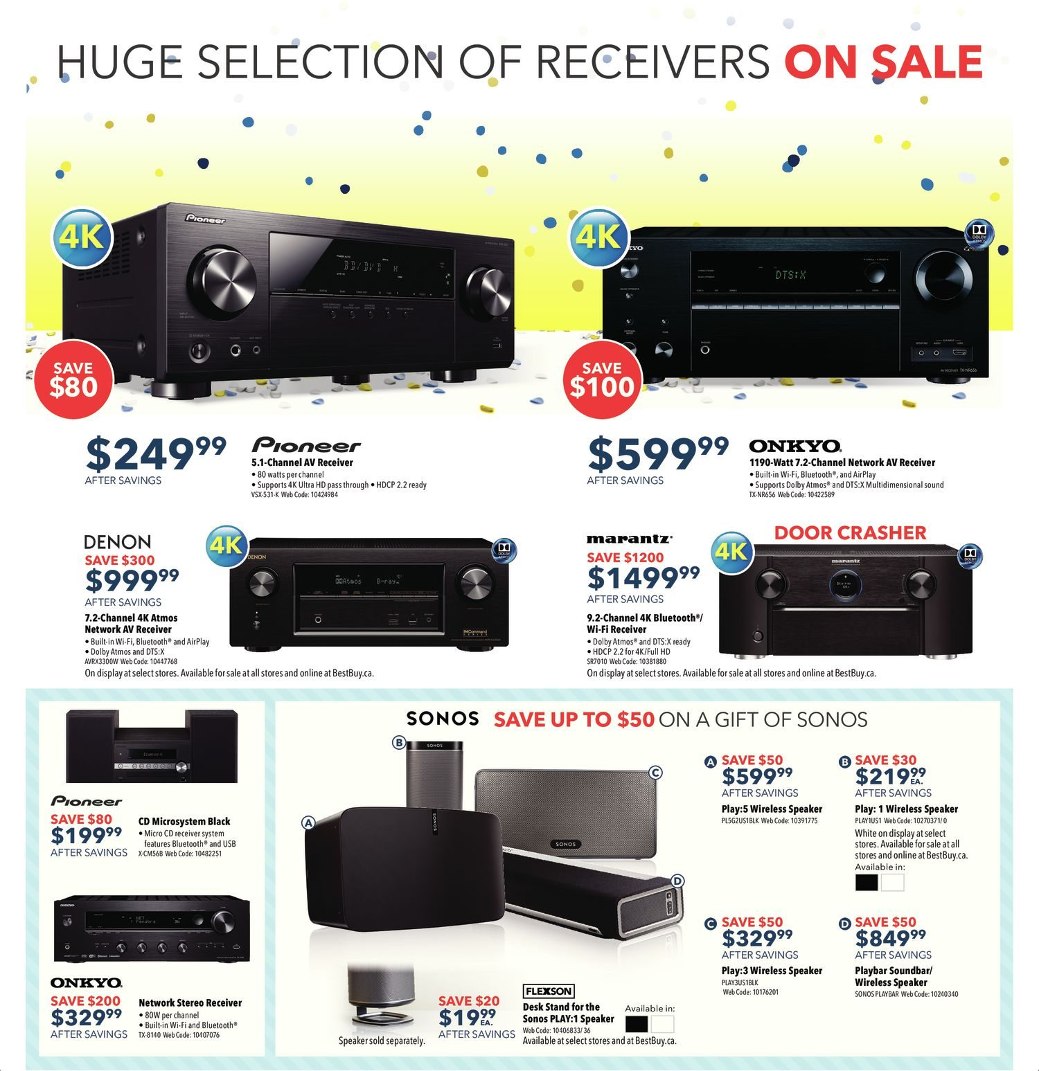Best Buy Weekly Flyer Boxing Day Sale Dec 25 29 Streamer With 3x Airplay Ce Pro On Installing Outdoor Wiring Speakers
