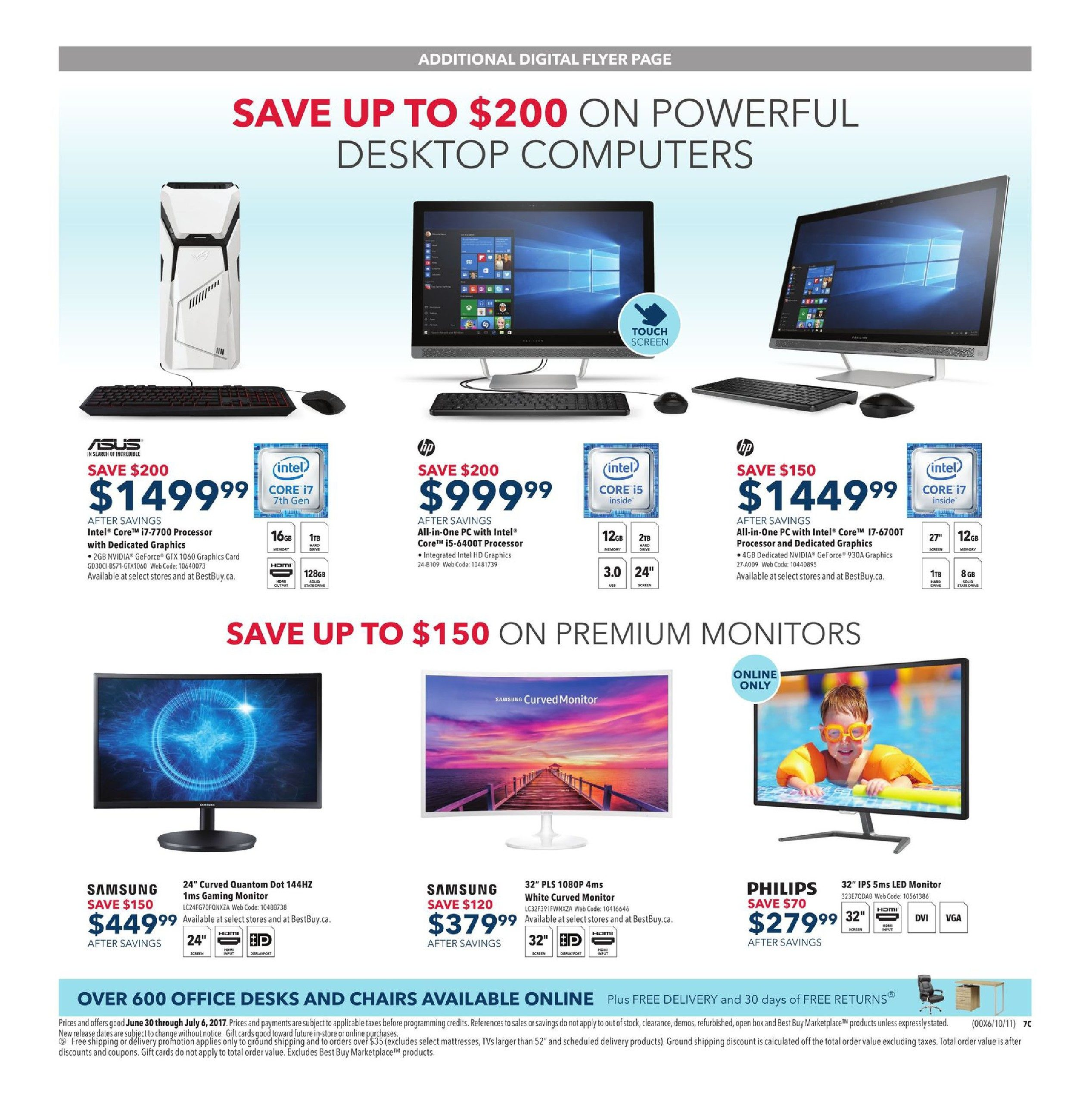 Best Buy Weekly Flyer Weekly Boxing Day in July Sale Jun 30