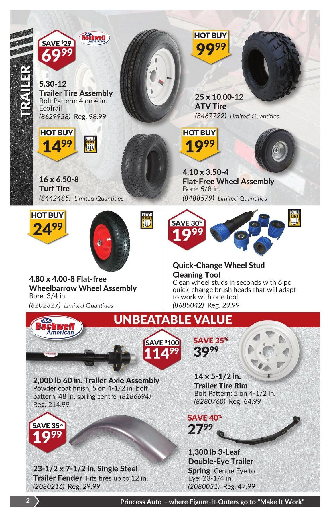 Princess Auto Weekly Flyer Equipped For Anything Jul 11 – 23