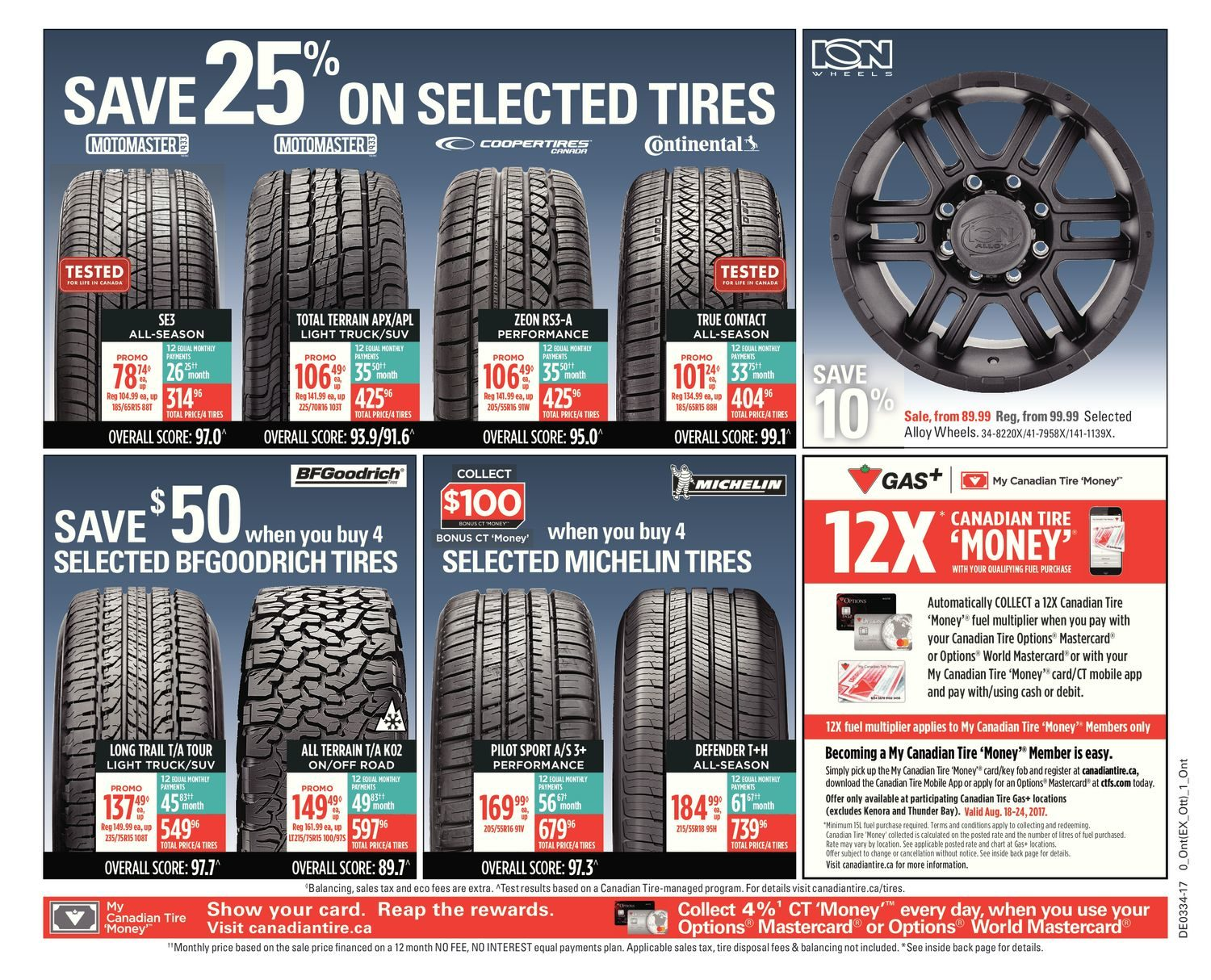 Canadian Tire Weekly Flyer - Weekly - Back to School - Aug 18 u2013 24 - RedFlagDeals.com & Canadian Tire Weekly Flyer - Weekly - Back to School - Aug 18 u2013 24 ...