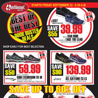 National Sports - Best of The Best Sale Flyer