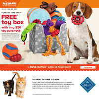 PetSmart - October Specials Flyer