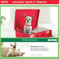 PetSmart - Holiday Eats & Treats Flyer