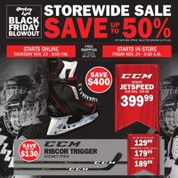 Pro Hockey Life - Black Friday Blowout Flyer