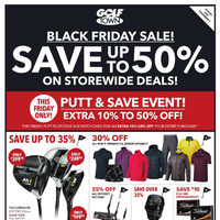 Golf Town - Black Friday Sale! Flyer