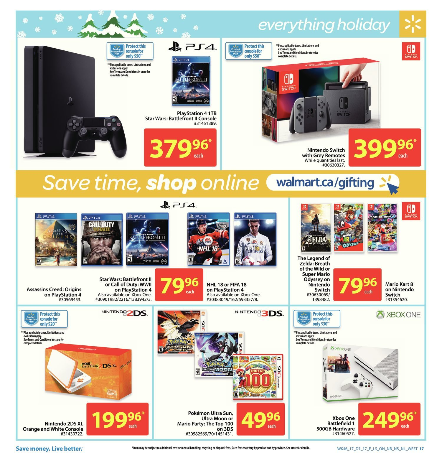 Walmart Weekly Flyer - Weekly - The Lowest Price is