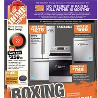 The Home Depot Boxing Week 2017 Flyer: FREE Google Home Mini