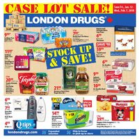 London Drugs - Case Lot Sale! Flyer