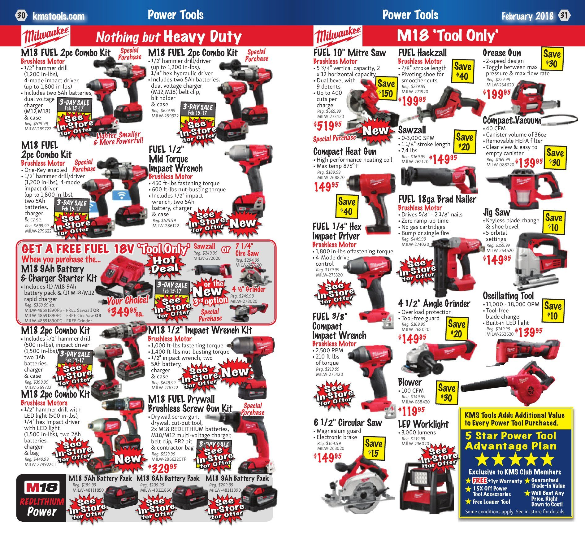 KMS Tools Weekly Flyer Welding Sale Feb 1 – 28 RedFlagDeals