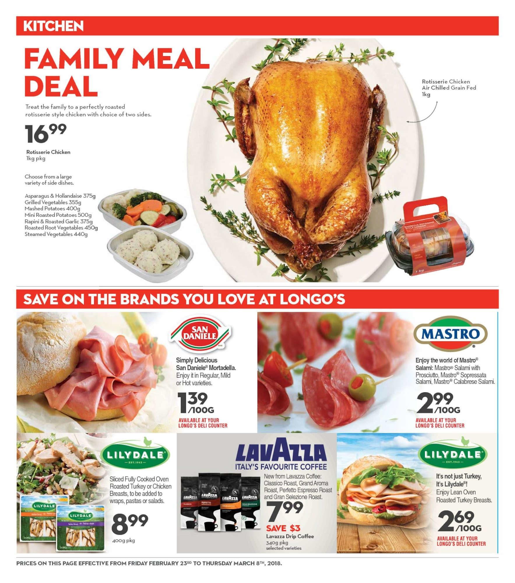 Longos Weekly Flyer 2 Weeks Of Savings Feb 23 Mar 8 Fancy Feast Grilled Turkey In Gravy 85g 6 Pcs Free Pouch