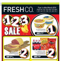 Fresh Co - Weekly Specials - $1, $2, $3 Sale Flyer