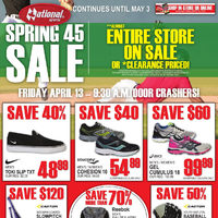 National Sports - Spring 45 Sale Continues Flyer