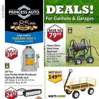 - Deals! For Gardens & Garages Flyer