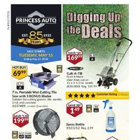 Princess Auto - Digging Up The Deals Flyer