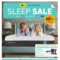 Leon's - Part of the Family - Sleep Sale Flyer