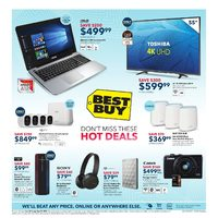 Best Buy - Weekly - Don't Miss These Hot Deals Flyer