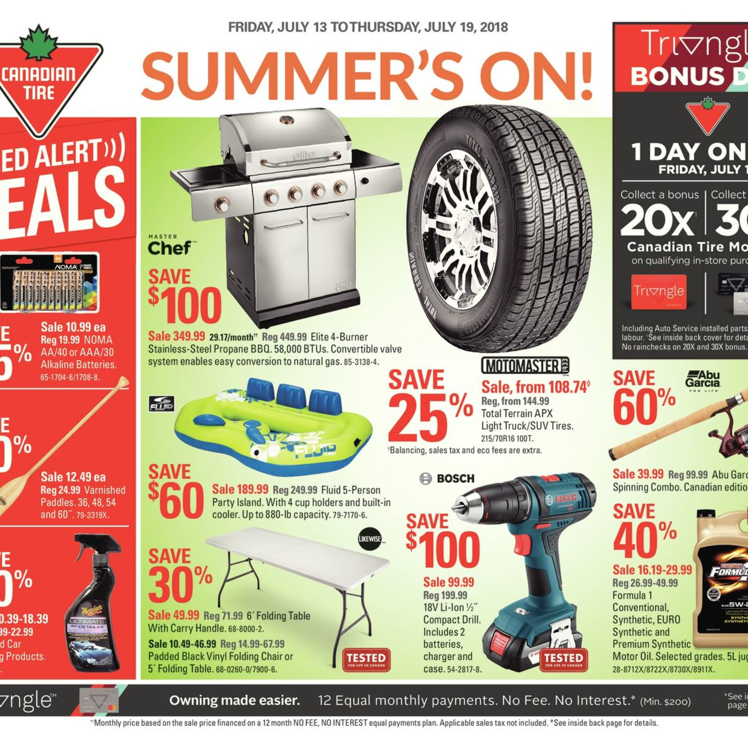 Remarkable Canadian Tire Weekly Flyer Weekly Summers On Jul 13 Machost Co Dining Chair Design Ideas Machostcouk