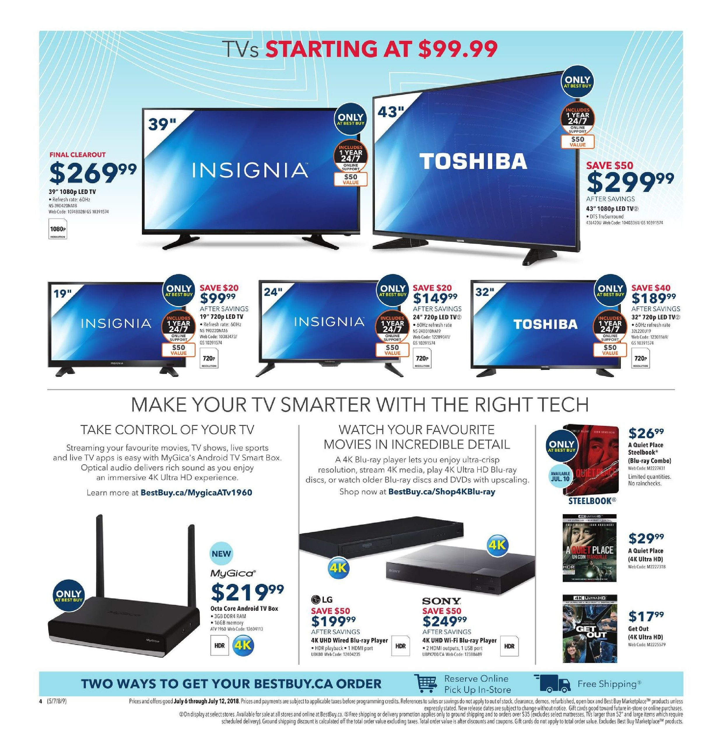 Best Buy Weekly Flyer Hot Tech At Even Hotter Savings Office 365 For 5 Pcmac 5tb Onedrive 2016 Original Valid Jul 6 12