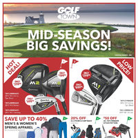 Golf Town - Mid-Season Big Savings! Flyer