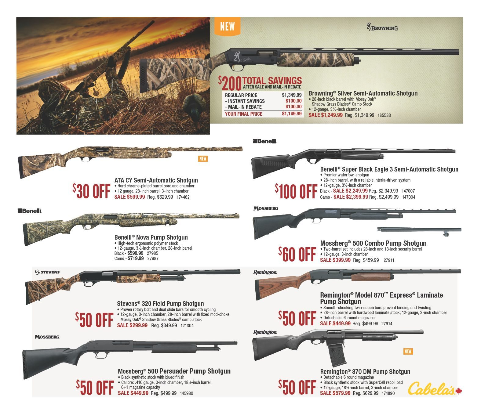 Cabelas Weekly Flyer - Fall 2018 Hunting Classic - Aug 10