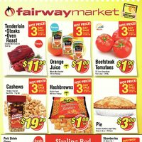 Fairway Market - Weekly Specials - Sizzling Red Savings! Flyer