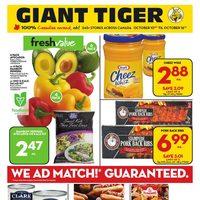 Giant Tiger Flyer Kitchener On Redflagdeals Com