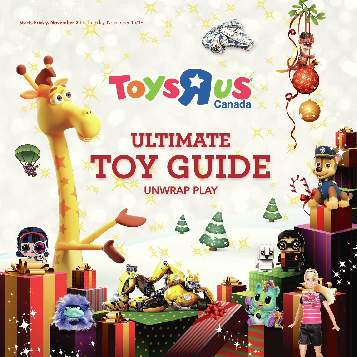 Leapfrog A Tad Of Christmas Cheer.Toys R Us Weekly Flyer Ultimate Toy Guide 2018 Nov 2