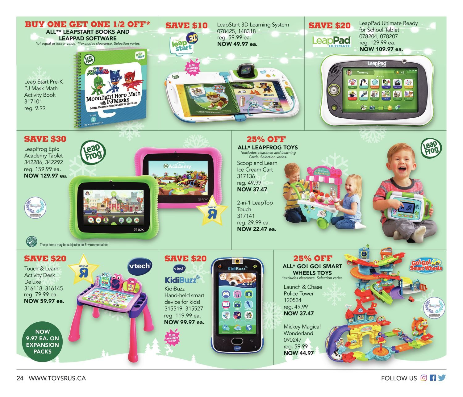 a033a8a57 Toys R Us Weekly Flyer - Weekly - 18 More Sleeps! - Dec 7 – 13 -  RedFlagDeals.com