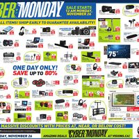 - 1 Day Only - Cyber Monday Flyer