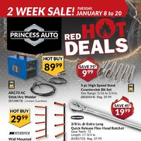 Princess Auto - 2 Week Sale! - Red Hot Deals Flyer