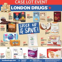 London Drugs - Case Lot Event Flyer