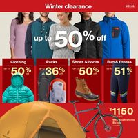 MEC - Winter Clearance Flyer