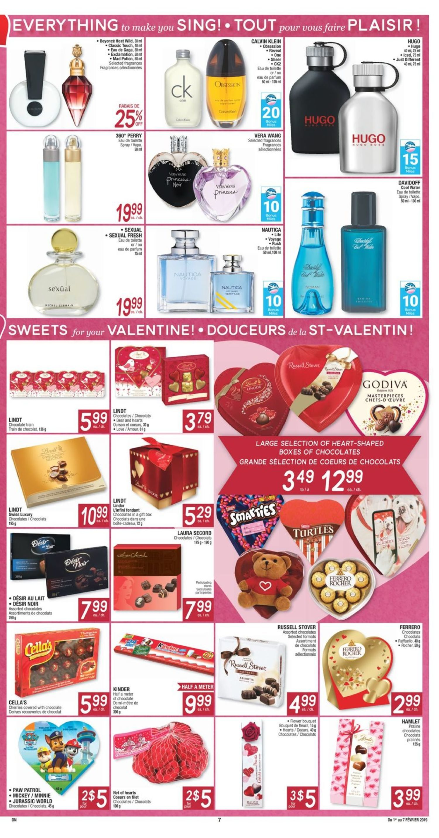 Jean Coutu Weekly Flyer Weekly Feb 1 7 Redflagdealscom