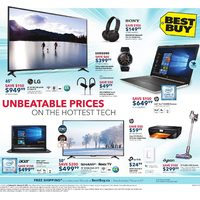 Best Buy - Weekly - Unbeatable Prices Flyer