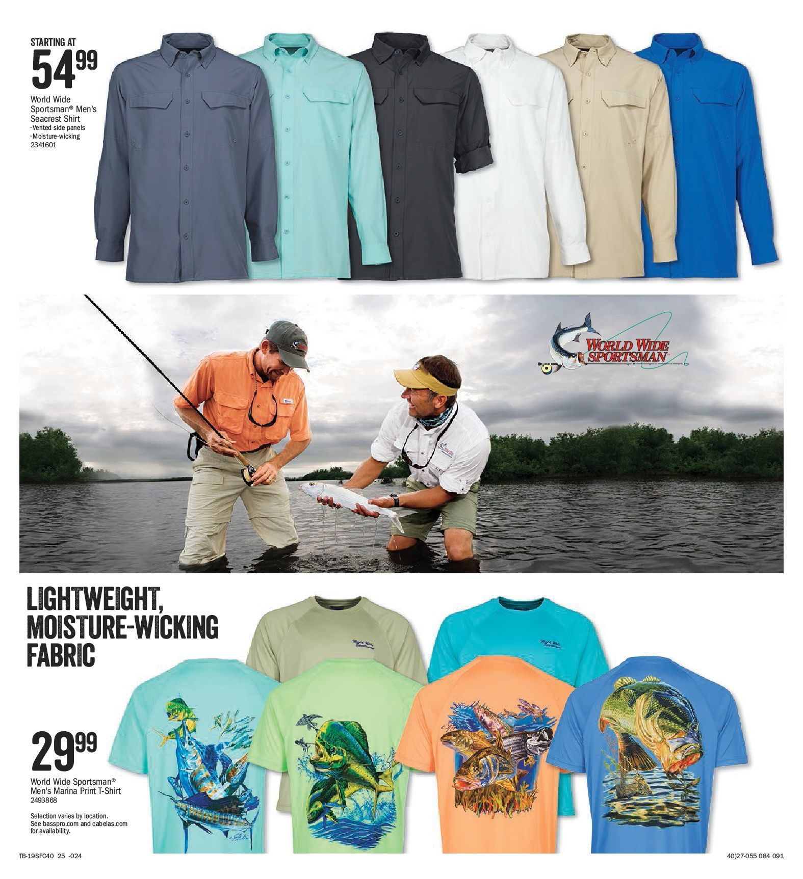 4491292a Bass Pro Shops Weekly Flyer - 2019 Spring Fishing Classic - Mar 1 – 17 -  RedFlagDeals.com