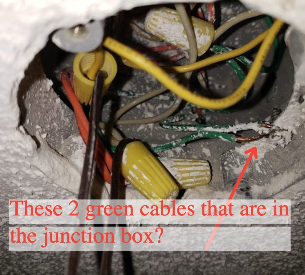 No ground wire in outlet box