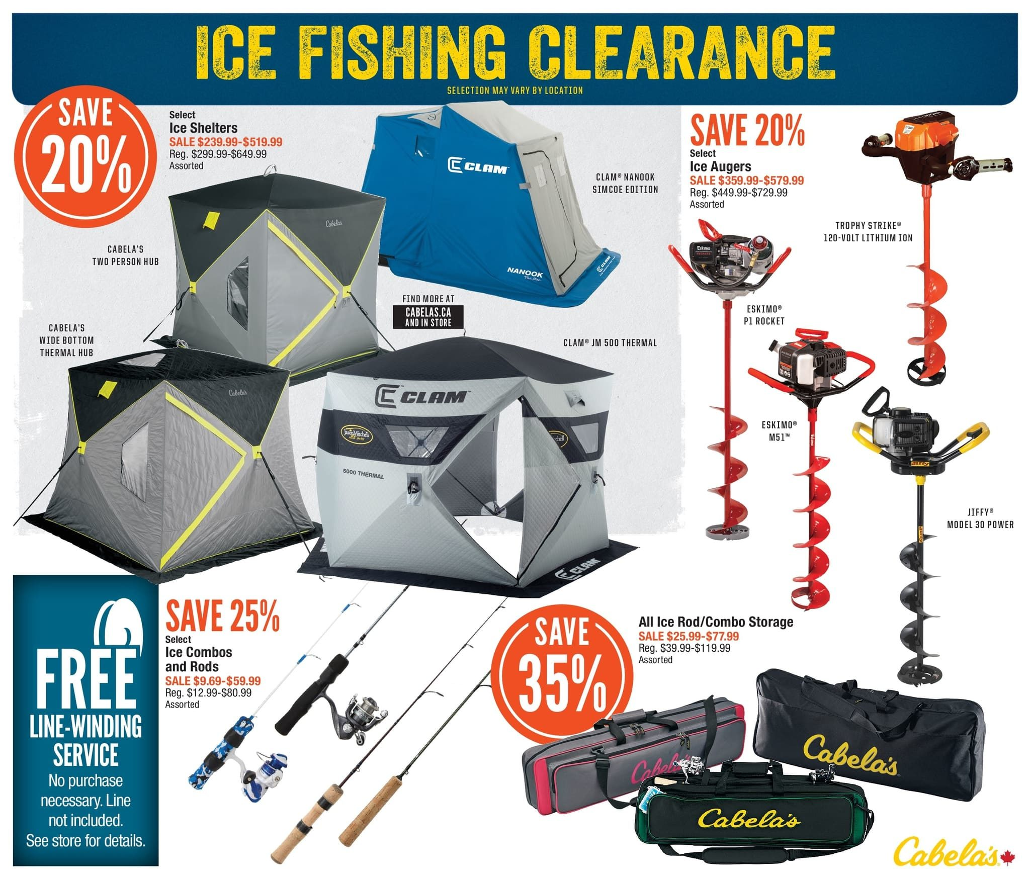 Cabelas Weekly Flyer - Spring Fishing Classic - Mar 1 – 17