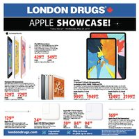 London Drugs - Apple Showcase! Flyer