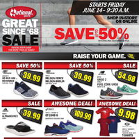 National Sports - Great Since '68 Sale Flyer