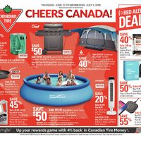 Canadian Tire - Weekly - Cheers Canada! Flyer