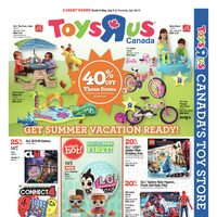 Toys R Us - 2 Great Weeks! - Get Summer Vacation Ready! Flyer