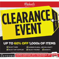 - Weekly - Clearance Event Flyer