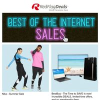 Online Retailers - Best of The Internet Sales Flyer