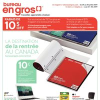 Staples - Weekly - Canada's Back To School Destination Flyer