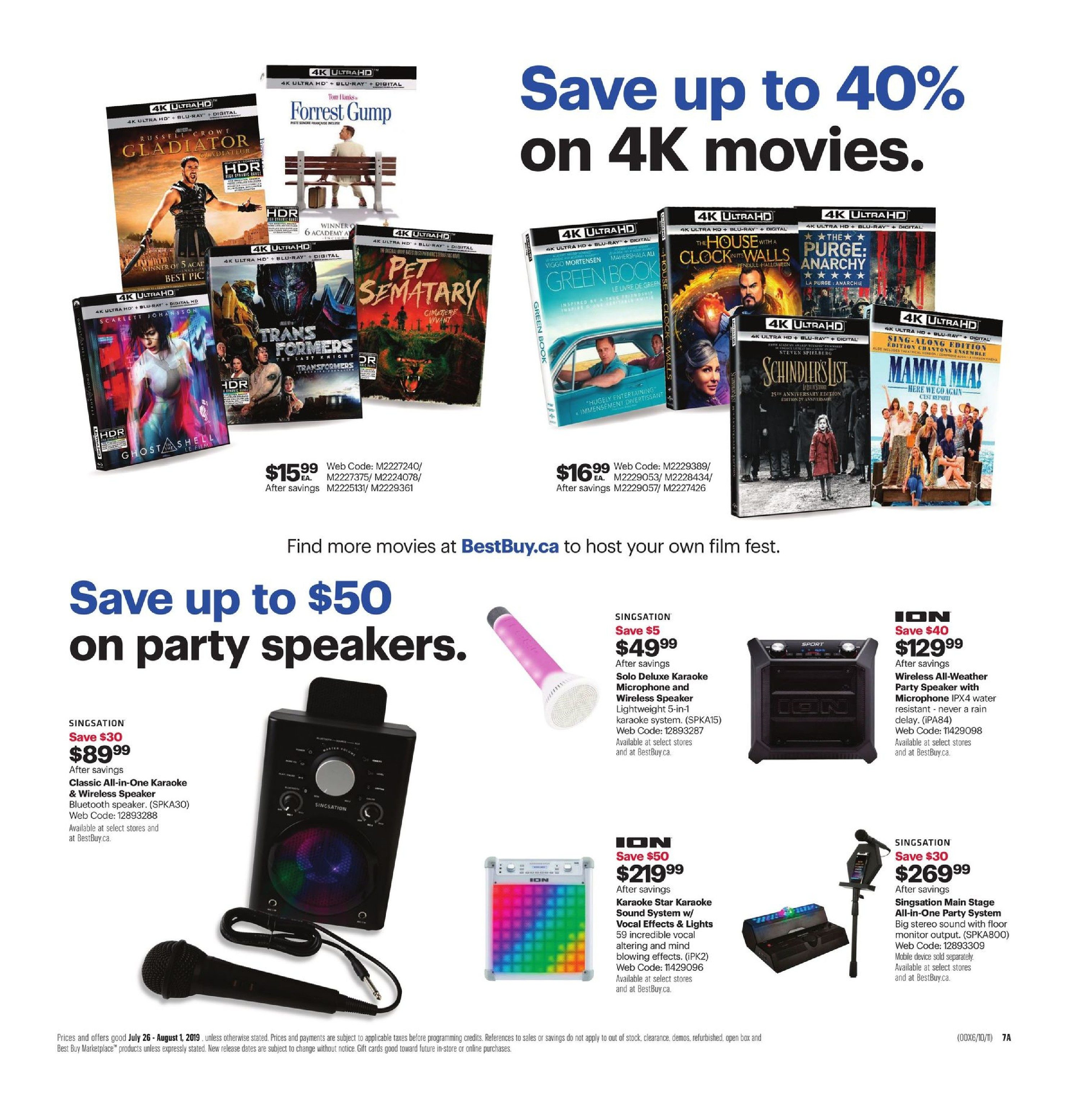 Best Buy Weekly Flyer - Weekly - Get Inspired For Back to