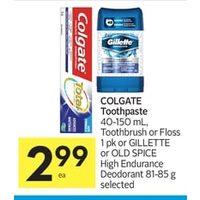 Gillette Sales in Flyers - RedFlagDeals com