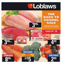 Loblaws - Weekly - The Back To School Sale Flyer
